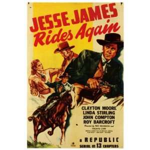 Jesse James Rides Again Movie Poster (27 x 40 Inches   69cm x 102cm