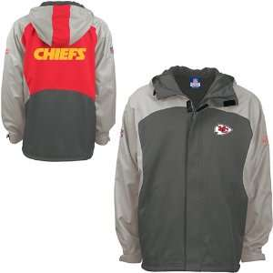Reebok Kansas City Chiefs Youth Storm Midweight Jacket