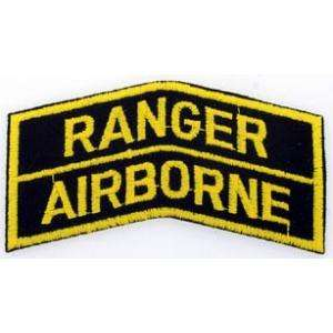 RANGER AIRBORNE PATCH   SoldierCity