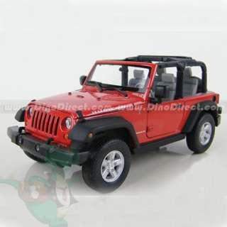 Wholesale 1/24 Scale Jeep Wrangler Rubicon Diecast Model Car
