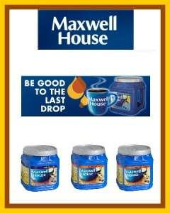 2x Maxwell House Ground Coffee 33oz Jugs