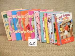 SWEET VALLEY TWINS 13 Book Lot VERONICA KNOWS BEST Full House