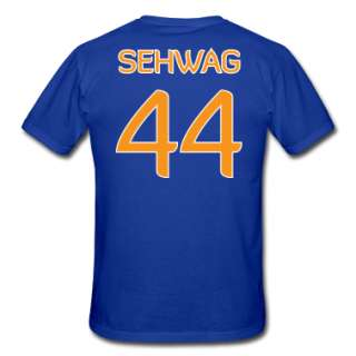 Sehwag #44 shirt / jersey (in honor of 2011 World Cup Champion Indian