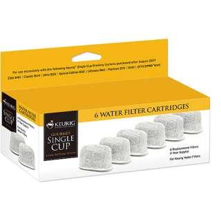 Filter Refills 6 Pack, Keurig Water Filter Cartridges, Coffee Filters