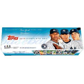 Topps 2010 New York Yankees Factory Set   Retail   MLB Shop