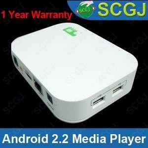 HD 1080P HDMI Google Android 2.2 Media Player TV Box HDTV NEW