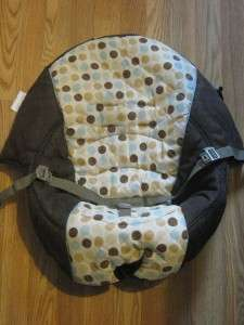 EEUC Graco Silhouette Swing REPLACEMENT SEAT COVER PAD Deco Dots Boy