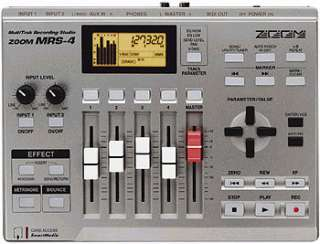 Zoom MRS 4   Digital 4 Track Recorder  ActiveMusician
