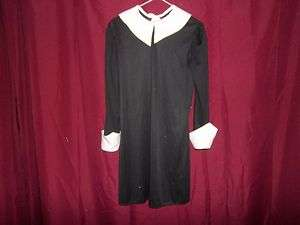 RUBIES~ADDAMS FAMILY~WEDNESDAY~DRESS~COSTUME~SIZE: LARGE 10 12
