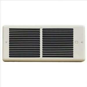Fan Forced Wall Heater w/ Wall Box Power 5,120 btu / 6.3 amps / 1500w