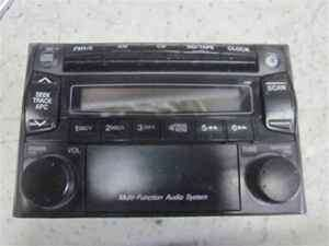 01 02 03 Mazda Protege CD Player Radio OEM LKQ