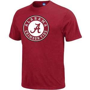 NCAA   Mens Alabama Crimson Tide Short Sleeve Tee