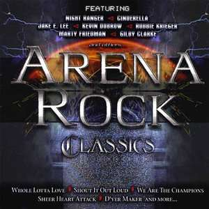 Arena Rock Classics, Various Artists   Hard Rock Rock