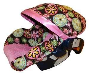 Girl Infant/Baby Car Seat Slip Cover Carnival Bloom
