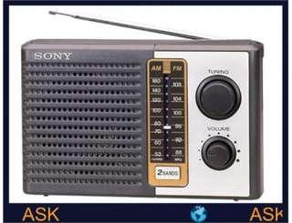 NEW Sony ICF F10 Radio Radios AM/FM