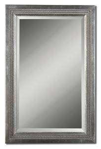 Silver Leaf Wall/Vanity/Bathroom/Bedroom Mirror 23x35