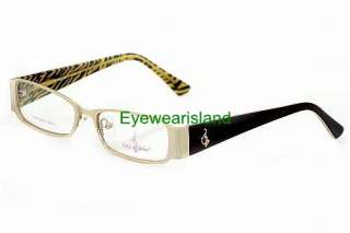 BABY PHAT 146 Eyeglasses Matte Gold MGD Optical Frame
