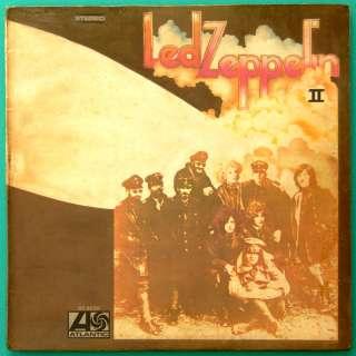 LP LED ZEPPELIN II HARD ROCK HEAVY METAL FOLK BLUES USA