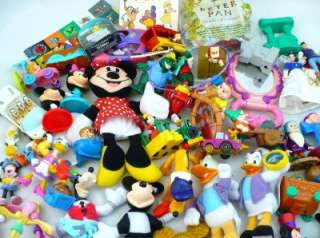 60+ Disney Mcdonalds Burger King Fast Food & More Toys Lot All Disney