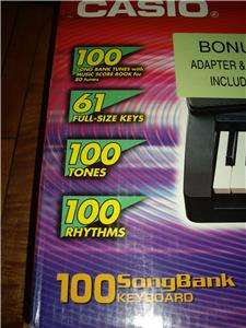 Casio LK 30 Electronic Keyboard Key Lighting System Digital Piano with