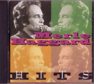 Merle Haggard Hits CD 70s 80s Classic Country Greatest Hits Mama Tried