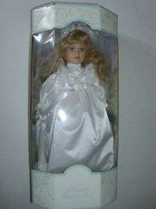 Brinn Genuine Porcelain Collectible Wedding Doll 054743010499