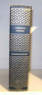 COMPLETE STORIES OF EDGAR ALLAN POE, Leather like, ICL Book