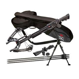 PSE TAC 15i Crossbow + Arrows, Scope, Case & Bipod 042958497419