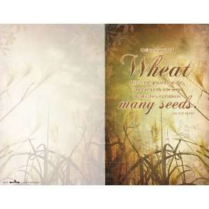 Church Bulletin   Wheat   100 pack