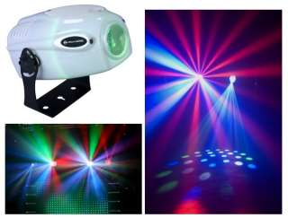 DJ Jelly Jewel LED RGBW Sound Activated Moonflower Light Effect