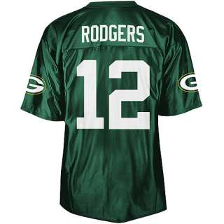 NFL   Mens Green Bay Packers #12 Aaron Rodgers Jersey