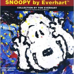 : Snoopy by Everhart 2008 Calendar (9781400915378): Dateworks: Books