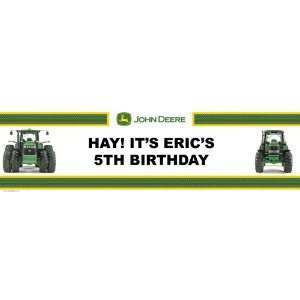 John Deere Personalized Birthday Banner Large 30 x 100