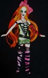 Punk Rocker Goth emo ~ OOAK Barbie doll