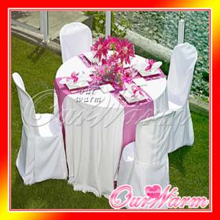 20 Hot Pink Satin Table Runners Wedding Decor Colors