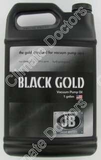 JB DVO 24 Black Gold Deep Vacuum Pump Oil  Gallon 684520107250