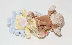 Baby Ganz Jungle Rattle Monkey Lion Baby Plush Toy