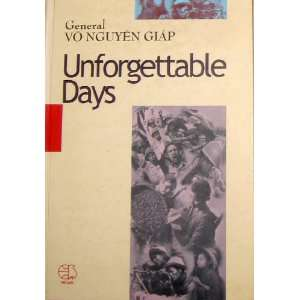 Unforgettable Days General Vo Nguyen Giap Books