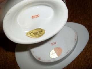 Gravy Boat & Underplate Andrea By Sadek Made In Japan