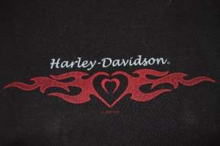 HARLEY DAVIDSON Shirt Black TANK Top Small AZ