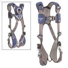 NEW ExoFit NEX LG Vest Style Full Body Safety Harness w/ Trama Straps
