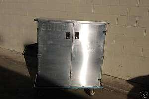 Pedigo Surgical Case Cart Stainless Steel Food Tool Box