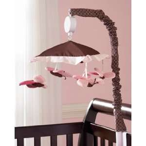 Carters Butterfly Flowers Nursery Musical Mobile Baby
