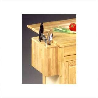 Home Styles Wood Top Kitchen Island Cart 5023 95 095385503956