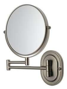 Jerdon Light Wall Mount Mirror Makeup Shave 7X magnification