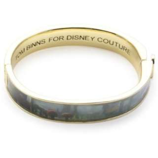 Disney Couture by Tom Binns Alice in Wonderland Mushroom Bangle