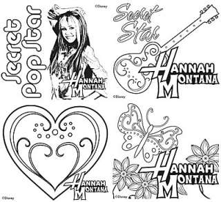 Hannah Montana Coloring Pages For Girls