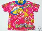 Super Mario Princess Peach Girl T Shirt Sz 14 age 11 13