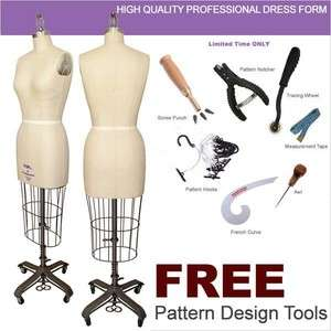 PGM Professional Dress Form Mannequin Display Sewing #4