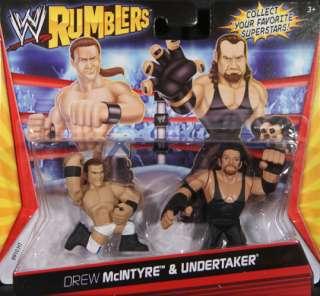 UNDERTAKER   WWE RUMBLERS MATTEL TOY WRESTLING ACTION FIGURES